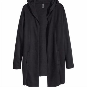 H&M Divided • Black Hooded Cardigan